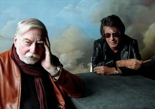 Jacques Dutronc et Jacques Lanzmann