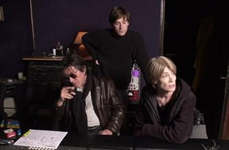 Jacques Dutronc, Françoise Hardy et Thomas Dutronc