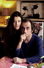 Richard Bohringer et sa fille, Romane