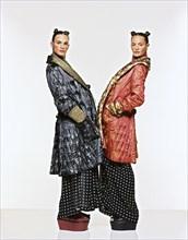 Mannequins habillés en Jean-Paul Gaultier