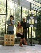 Niki de Saint-Phalle, Philippe Bouveret et Pierre-Marie Lejeune