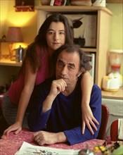 Richard Bohringer et sa fille Romane