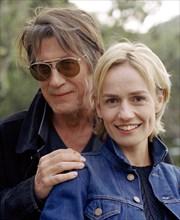 Sandrine Bonnaire et Jacques Dutronc