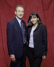 Bertrand Delanoë et Anne Hidalgo