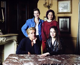 Alice Ferney, Anna Gavalda, Véronique Vasseur, Amélie Nothomb