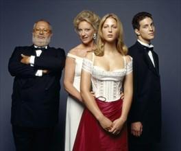 Gianfranco Ferré, Princesse Marie-Christine de Kent, Gabriella et Frederick de Kent