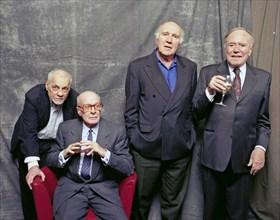Michel Serrault, Jacques François, Michel Piccoli, Pierre Schoendoerffer, Les acteurs