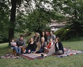 Ottavio Missoni en famille