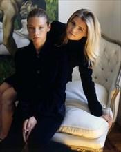 Gaia et Beatrice Trussardi