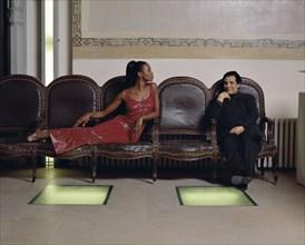Azzedine Alaïa et Naomi Campbell