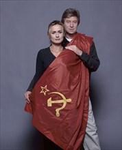 Sandrine Bonnaire et Régis Wargnier