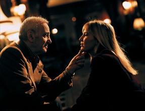 Charles Aznavour et sa fille