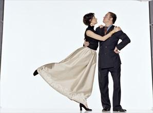 Valérie Lemercier et Christian Lacroix