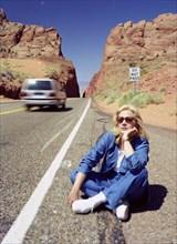 Sylvie Vartan dans le Colorado