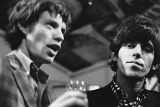 Mick Jagger et Keith Richards, 1966