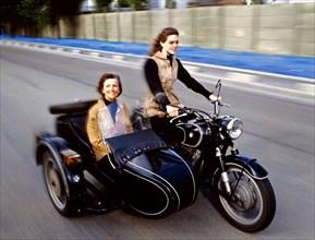 Julie Andrieu et sa mère