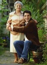 Gilles Benizio et sa mère