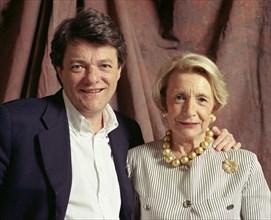 Jean-Louis Borloo avec sa mère