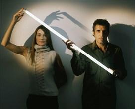 Carla Bruni et Julien Clerc