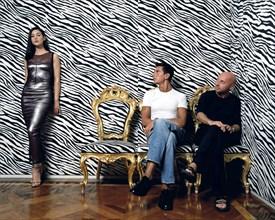 Monica Bellucci, Domenico Dolce et Stefano Gabbana