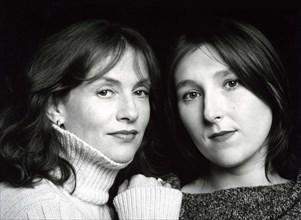 Isabelle Huppert et Marie Darrieussecq
