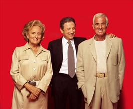 Bernadette Chirac, Michel Drucker, Jean-Paul Belmondo