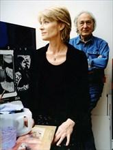 Françoise hardy et William Klein