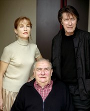 Isabelle Huppert, Claude Chabrol, Jacques Dutronc
