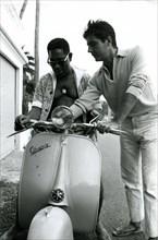 Dizzy Gillespie et Roger Pierre
