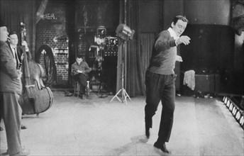 Yves Montand sur scène