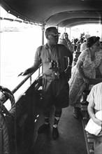 Roy Eldridge en route pour visiter les îles de Lerins