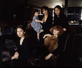 Sonia Rykiel en famille