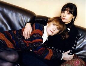 Nadine et Marie Trintignant