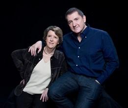 Arlette Chabot et Yves Calvi