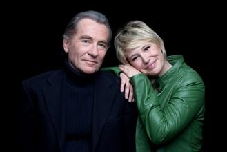 William Leymergie et Maïtena Biraben