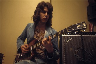 Mick Taylor en coulisses
