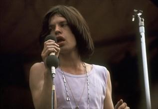 Mick Jagger sur scène