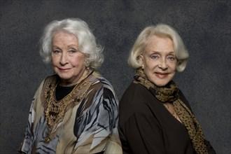 Danielle Darrieux et Micheline Presle