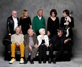 Groupe d'acteurs et de chanteurs français