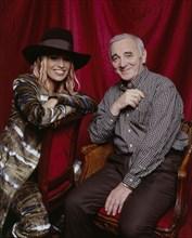 Charles Aznavour et Lâam