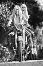 Sylvie Vartan et Brigitte Bardot, Rome