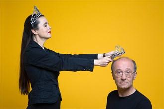 Amélie Nothomb et Philippe Geluck