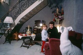 Eddy Mitchell et son fils Eddy