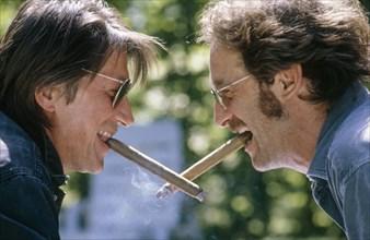 Vincent Lindon et Jacques Dutronc