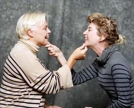 Muriel Robin, Michèle Laroque