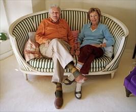 Benoîte Groult et Paul Guimard