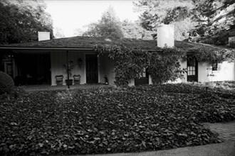 La propriété d'Alain Delon à Los Angeles