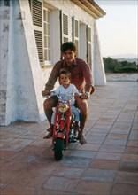 Alain Delon et son fils Anthony