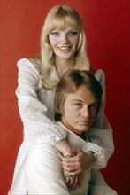 Claude François et Isabelle Forêt, 1969