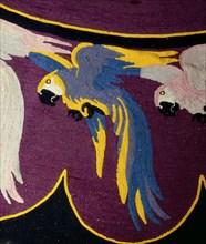 Tapis aux perroquets de la collection Yves Saint-Laurent